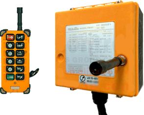Радиоуправление крана пультом F23-A в Краснодаре